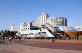 Beach Front Promenade in Durban South Africa — Stock Photo