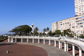 Empty Amphitheater on Beachfront in Durban South Africa — Stock Photo
