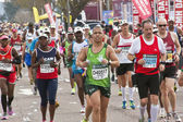 Closeup of Runners Competing in Comrades Marathon — Stock Photo