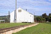 Storage Shed at Railway Station in Midlands, Kwazulu-Natal — Stock Photo