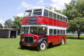 Double Decker Bus at Natal Vintage Tractor and Machinery Club — 图库照片