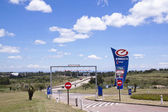 Entrance to Fuel Stop Between Durban and Pietermaritzburg — Stock Photo