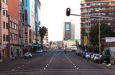 Early Morning View of Smith Street, Durban South Africa — Stock Photo