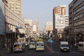 Early Morning View of West Street, Durban South Africa — Stock Photo