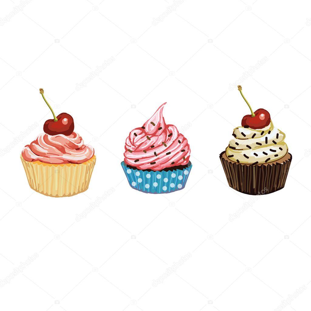 картинка с кексами