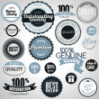 Set of premium quality labels — Stock Vector #29226659