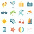 Tourism icon set — Vector de stock #41565097