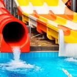 Aquapark sliders — Stock Photo #29667811