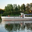 pleasure boat — Stock Photo