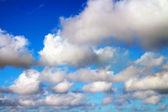 Blue sky with clouds. Composition of Nature. — Stock Photo