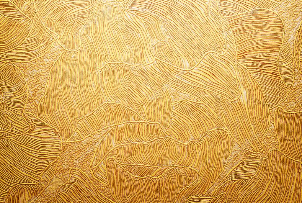 Gold Background Texture Wallpaper On The Wall Element Of