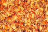 Pizza background. — Photo