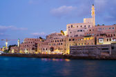 Beautiful photo of evening Jaffa. israel. — Foto de Stock