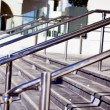 Stock Photo: Beautiful stainless steel railings
