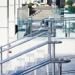 Stainless steel railings — Stock Photo #35945559