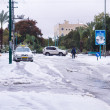Snow in Israel. 2013. — 图库照片