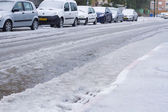 Snow in Israel. 2013. — Stock Photo