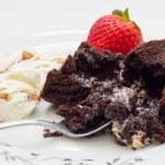 Volcano cake . — Stock Photo #39019281