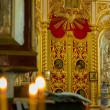 Interior of  orthodox church in Jerusalem , Israel . — Stock Photo #41897093