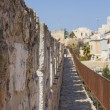 Stock Photo: Defensive wall of ancient holy Jerusalem .