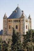 Abbey of the Dormition  - Jerusalem — Stock Photo