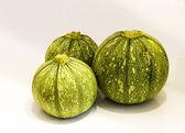 Round zucchini . — Стоковое фото