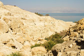 Mrtvé moře útesy — Stock fotografie
