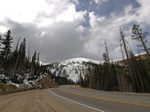 Highway in the Rocky Mountains — Stock Photo