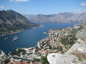 Beautiful view of Kotor Bay — 图库照片