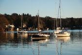 Yachts on Lake Windermere — ストック写真