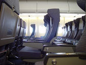 Empty plane — Stock Photo