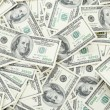 Background with money american hundred dollar bills — Stock Photo #34647433