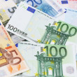 Stock Photo: Euro (EUR) banknotes - legal tender of EuropeUnion