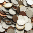 Big group of coins from all world  — Stock Photo