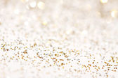 Soft lights silver and gold background — Foto Stock