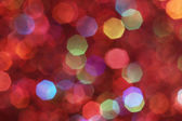 Red, pink, white, yellow and turquoise soft lights abstract background — Stock Photo