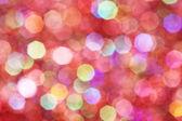 Vermelhas, rosa, brancas, amarelas e turquesas luzes suaves abstraem base — Fotografia Stock