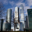 Moscow City buildings — Stock Photo