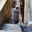 Stock Photo: Residents of Tbilisi. Old town Tbilisi, Georgia