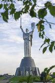 The Motherland Monument — Stock Photo