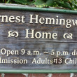 Hemingway House, Key West, FL, USA — Stock Photo