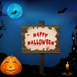 Halloween card — Vettoriale Stock