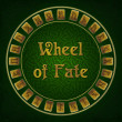 Wheel of fate with rune signs — Stock Photo #38778877