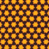 Creative yellow design seamless pattern background vector — Stock Vector