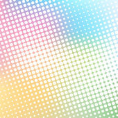Colorful halftone background vector — Stock Vector