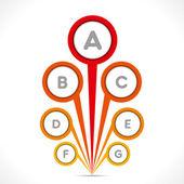 Creative circle info-graphics — Vetorial Stock
