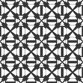 Black and white triangle pattern — Stock Vector