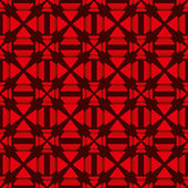Red triangle pattern — Stock vektor
