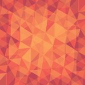 Creative retro triangle pattern background — Stock Vector