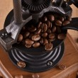 Manual coffee grinder — Stockfoto